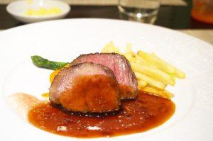 東京ステーションホテルアトリウムのディナー