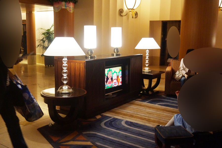 ディズニーアンバサダーホテルのロビー
