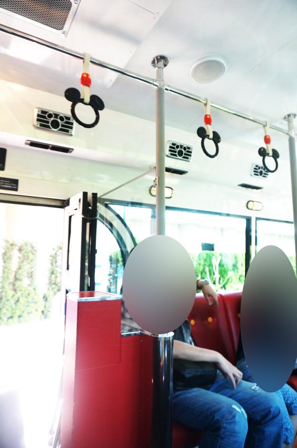 ディズニーアンバサダーホテルミッキーのシャトルバス