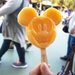 ディズニーランドミッキーのアイスキャンディ