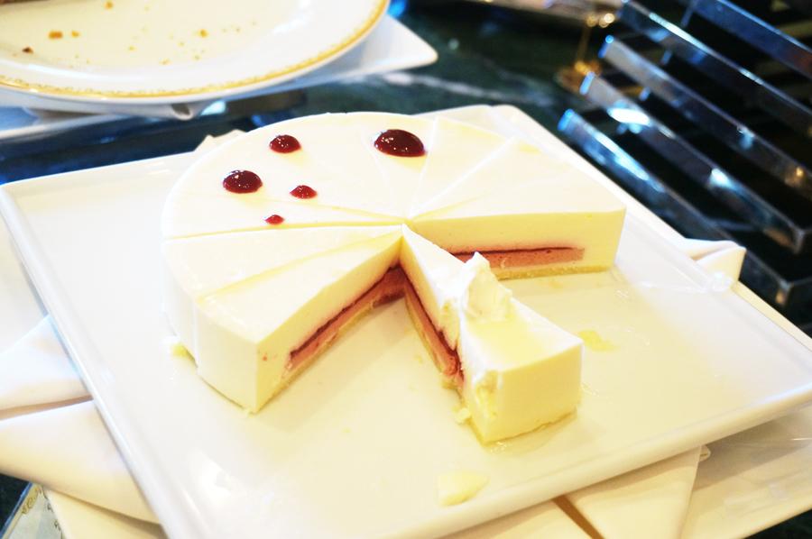 シャーウッドガーデンレストランのケーキシャーウッドガーデンレストランのケーキ