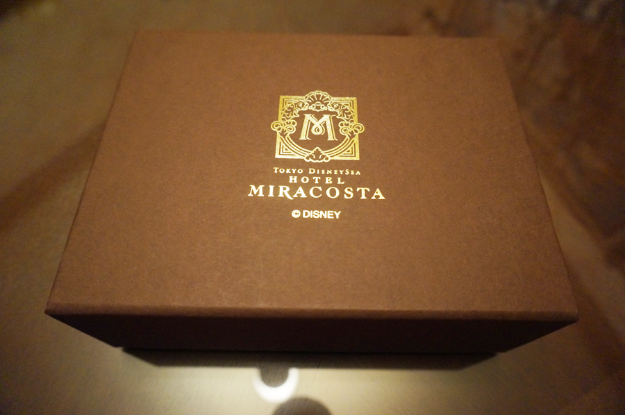 ミラコスタスイートのプレゼントのポーチ