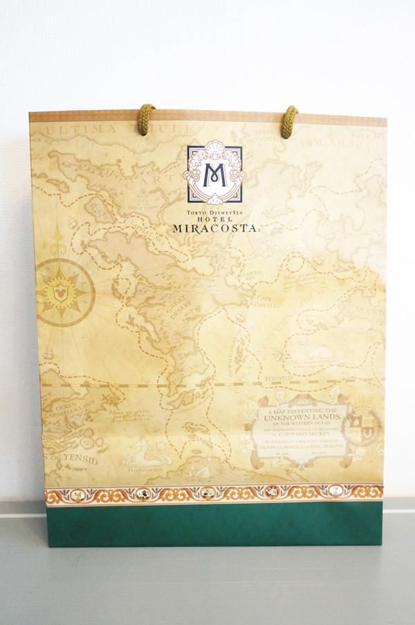 ミラコスタの紙袋(ペーパーバッグ)