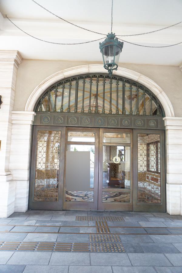 ミラコスタの正面玄関