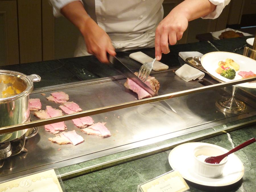 シャーウッドガーデンレストランの夏祭りディナーブッフェ