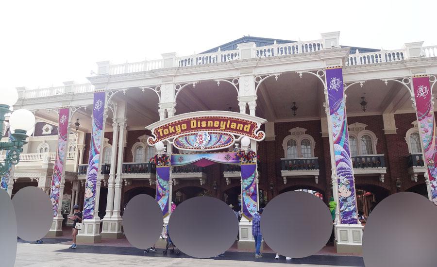 ディズニーランドの夏祭り2017のデコレーション&フォトロケーション