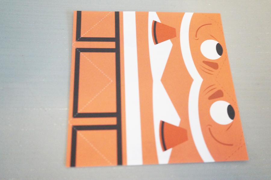 ニモシーライダーの折り紙メモセット