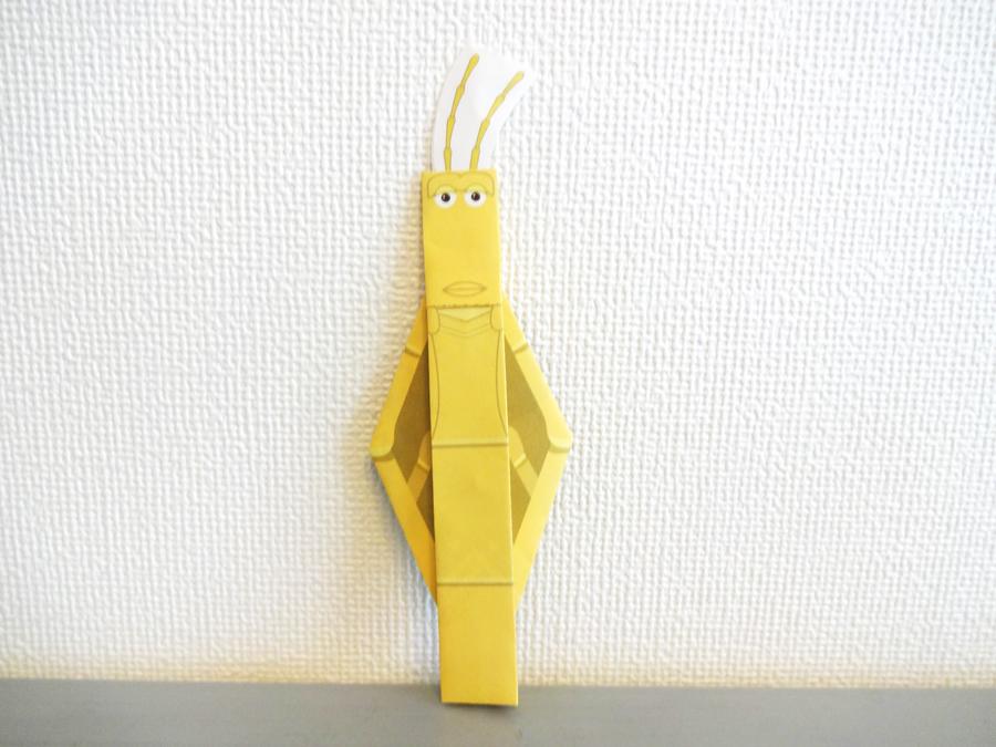 バグズライフの折り紙メモ