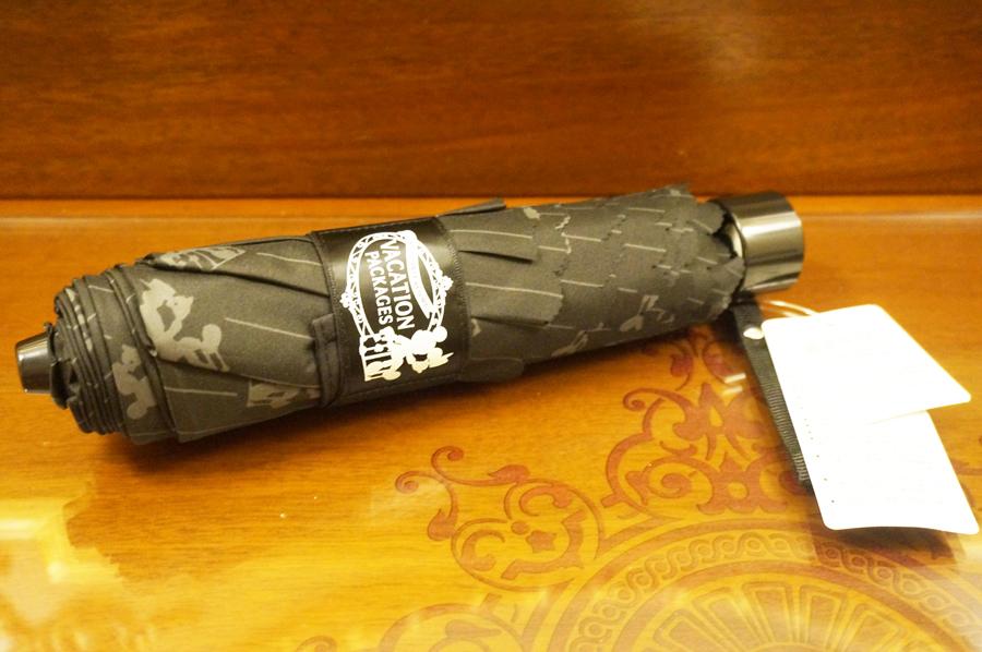 バケパ2017のグッズ晴雨兼用折り畳み傘