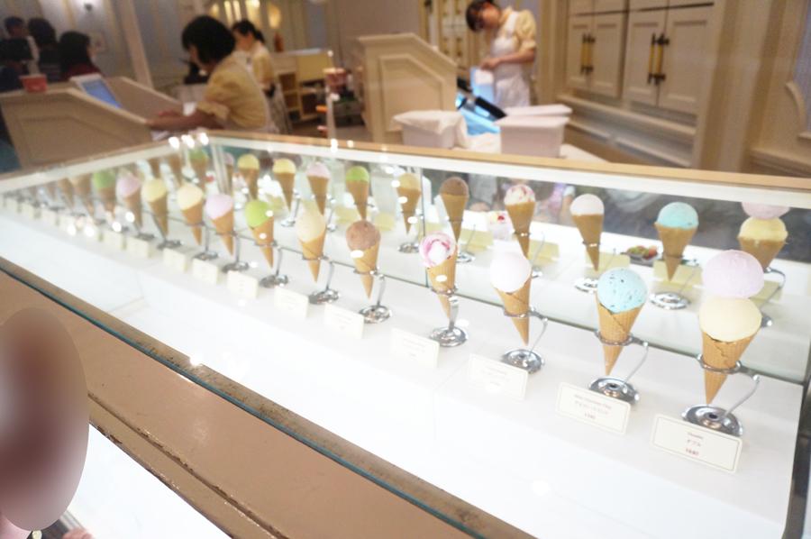ディズニーランドアイスクリームコーン