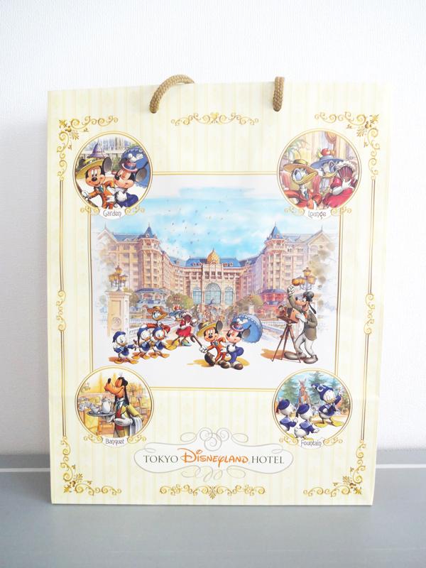 ディズニーランドホテルのアメニティ紙袋