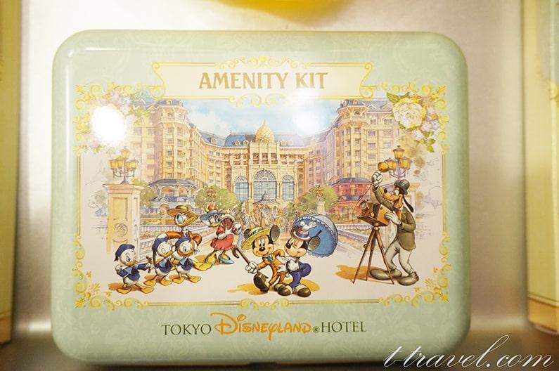ディズニーランドホテルのアメニティを紹介。アメニティ缶