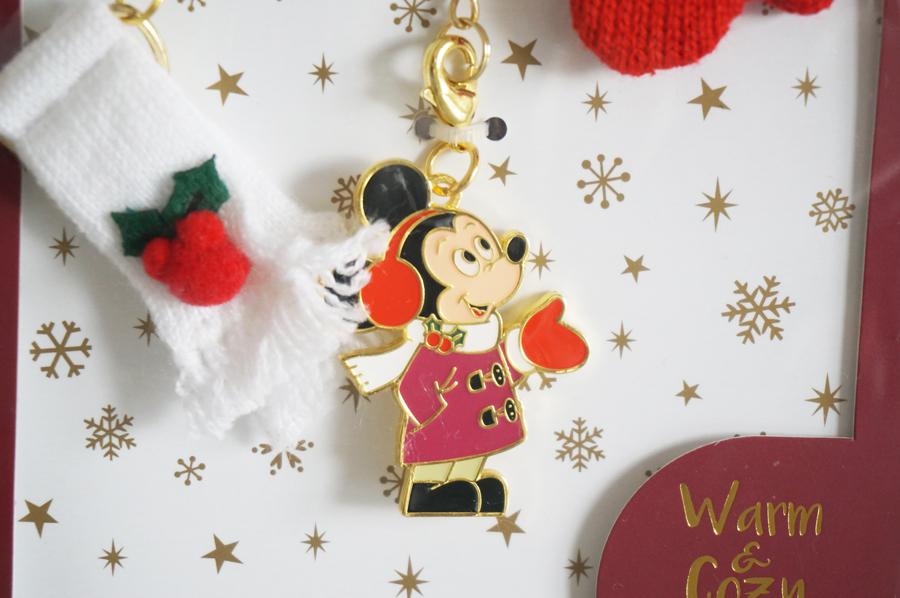 ディズニークリスマス2017Warm&Cozy Winterのグッズ キーホルダー