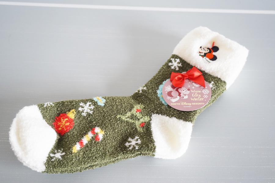 ディズニークリスマス2017Warm&Cozy Winterのグッズ 靴下