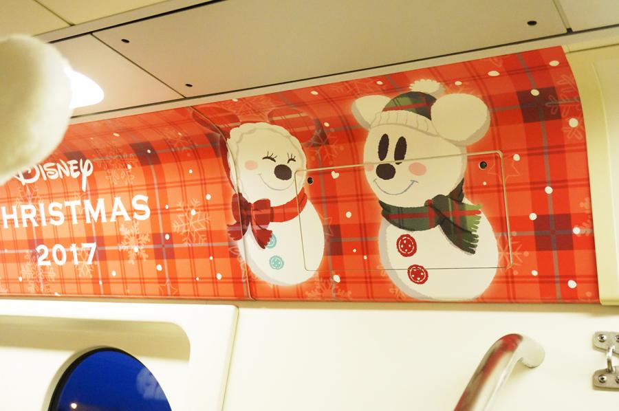 ディズニーリゾートラインのクリスマス!スノースノーライナー