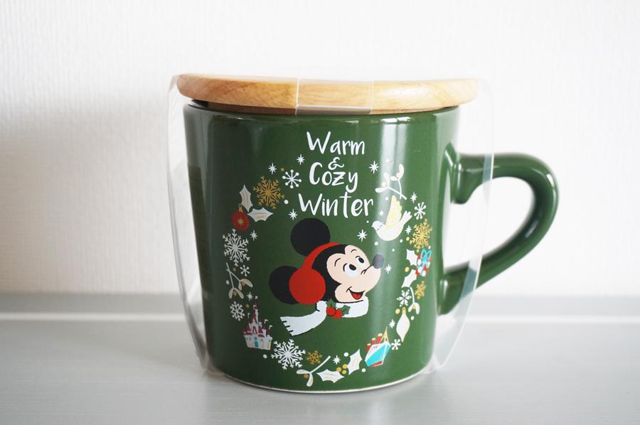 ディズニークリスマス2017Warm&Cozy Winterのグッズ マグカップ