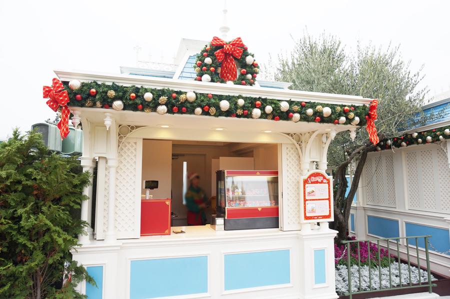 ディズニーランドクリスマスファンタジー2017