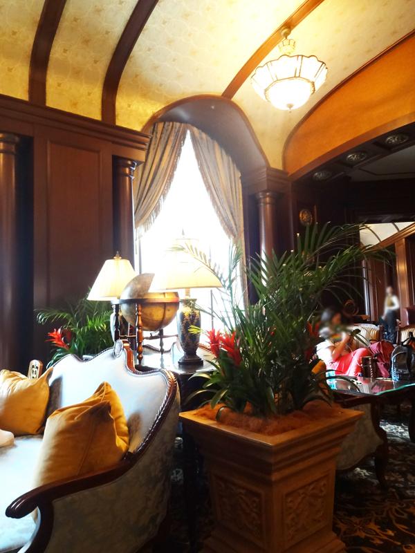 ディズニーランドホテルのマーセリンサロン