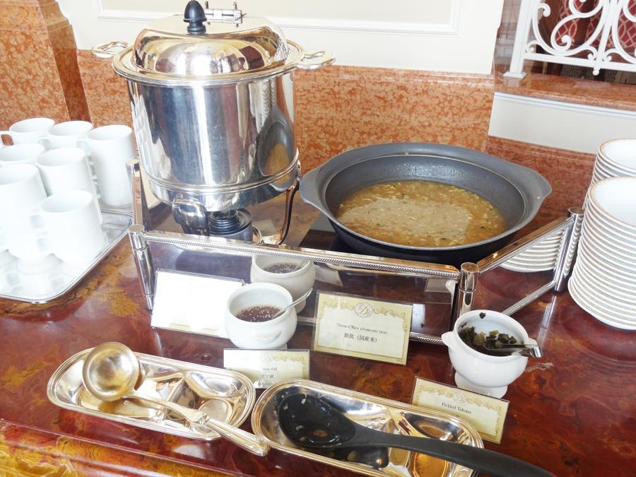 ドリーマーズラウンジの朝食ブッフェ