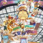 ディズニーランド35周年のモニュメント、ワールドバザールのセレブレーションタワー