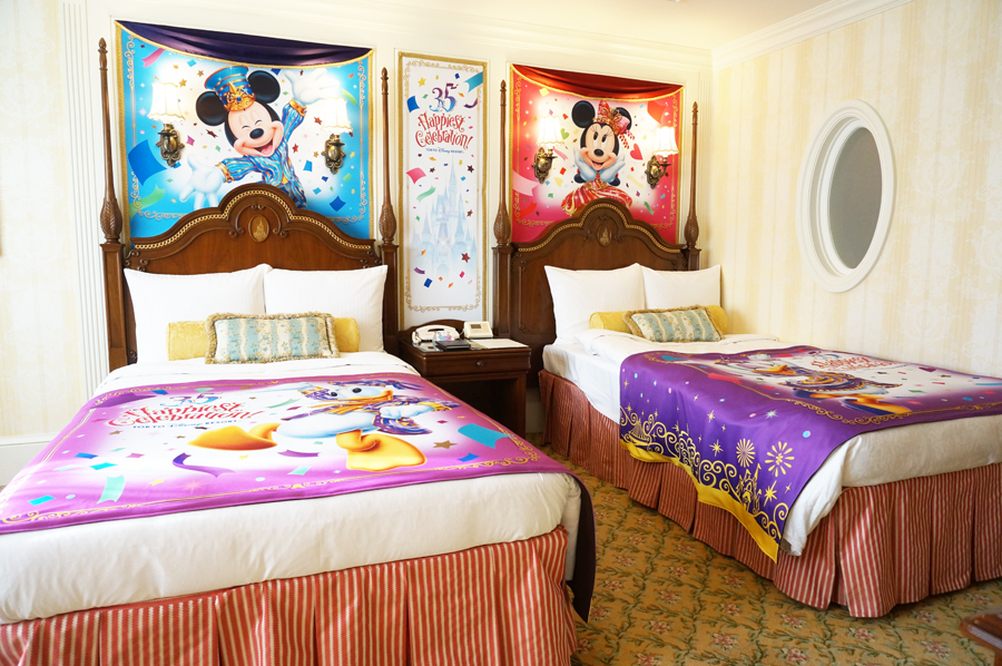 """ディズニーランドホテル35周年""""Happiest Celebration!"""" デコレーションルーム"""