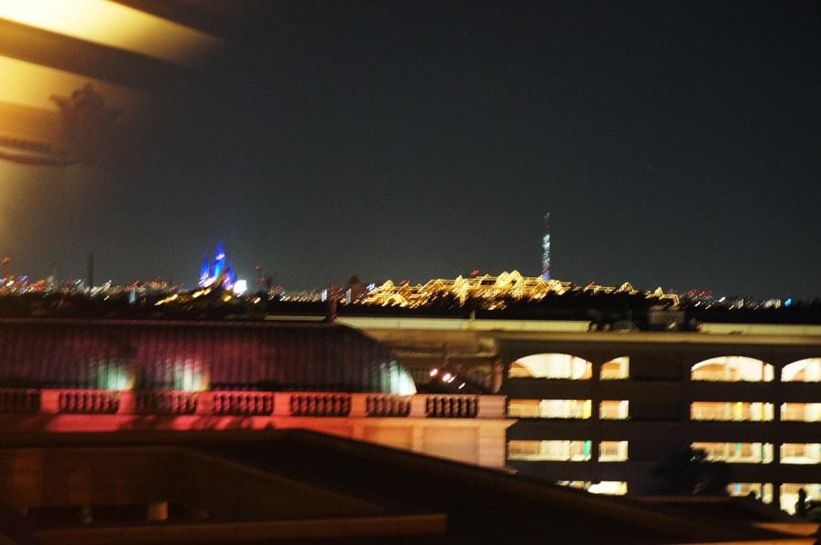 カピターノミッキースーペリアルームからの眺め