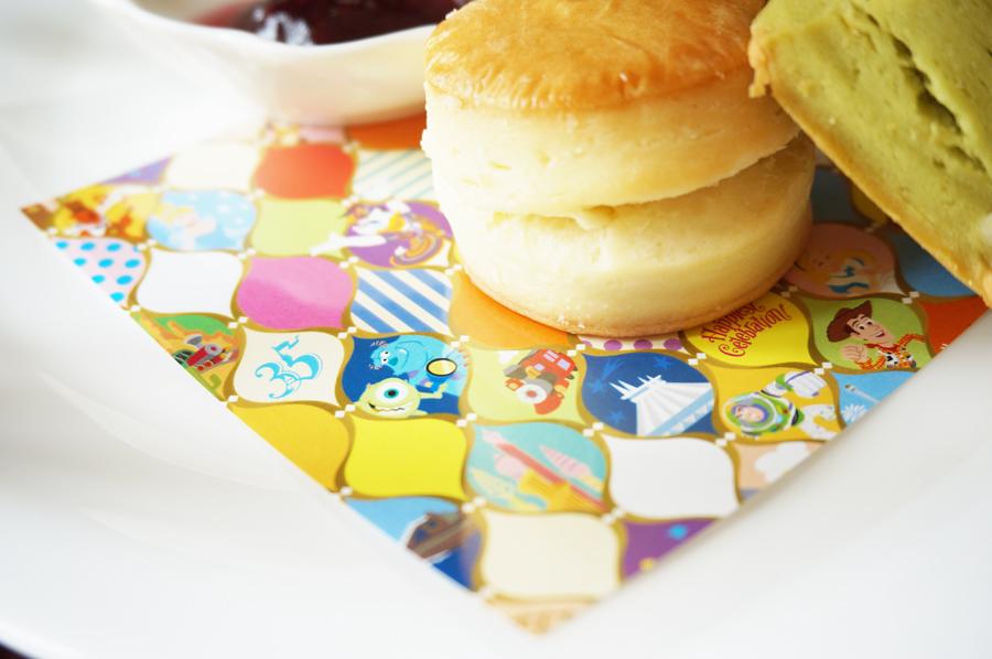 "Tokyo Disney Resort 35th ""Happiest Celebration!""アフタヌーンティーセット"