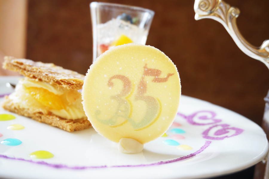 "Tokyo Disney Resort 35th ""Happiest Celebration!""アフタヌーンティーセット"
