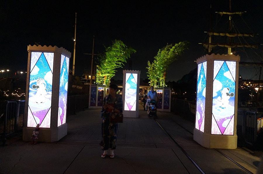 東京ディズニーシーのディズニー七夕デイズ2018のウィッシングプレイス