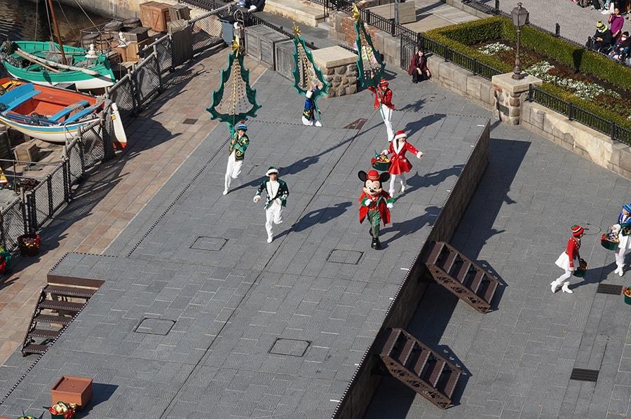 テラスルームハーバーグランドビューから観るパーフェクトクリスマス