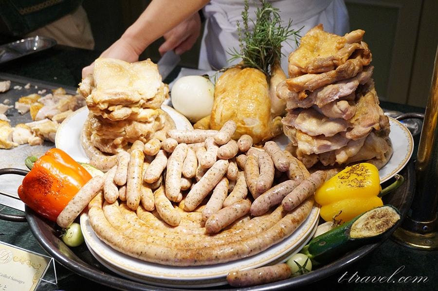 シャーウッドガーデンレストラン夏祭りランチブッフェ