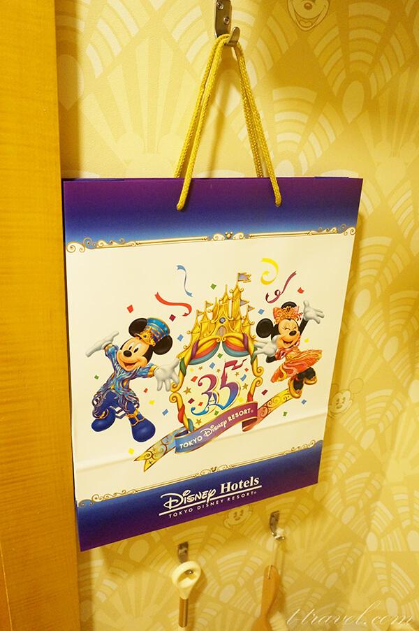 ディズニーアンバサダーホテル35周年のデコレーション