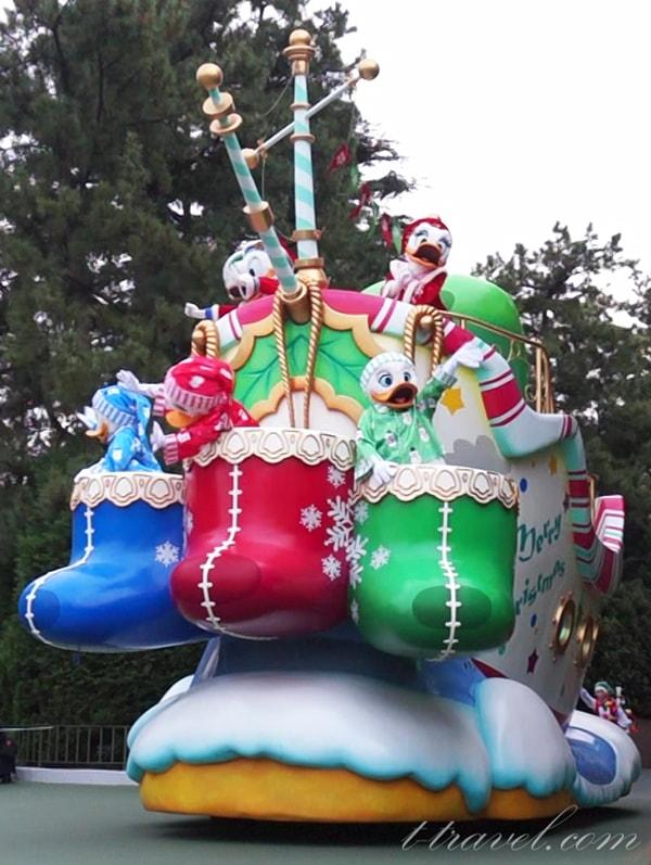 ディズニーリゾートクリスマス旅行