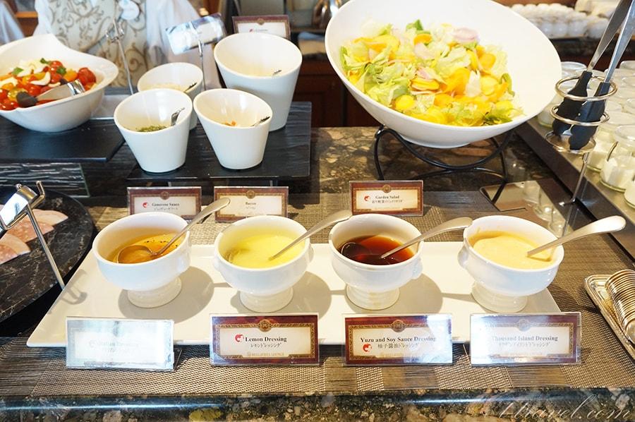 ベッラヴィスタラウンジの朝食ブッフェ秋のメニュー
