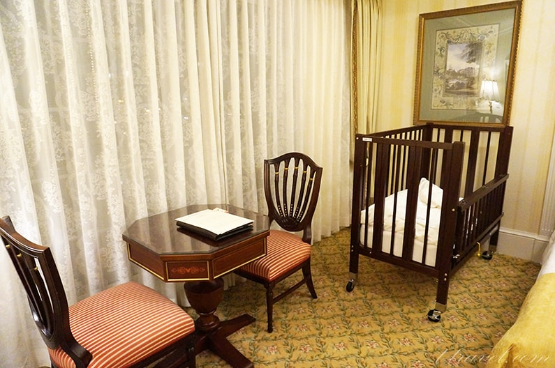 ディズニーランドホテルスーペリアアルコーヴルーム5階