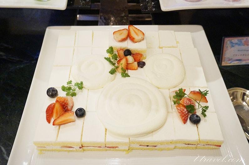 シャーウッドガーデンレストラングランドフィナーレのデザート