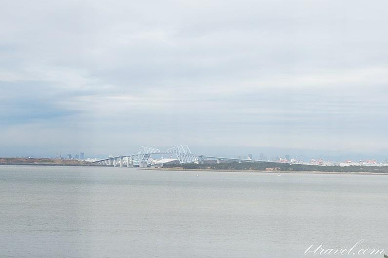 ホテルオークラ東京ベイからの眺め