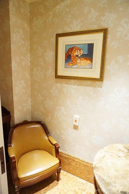 ディズニーランドホテルの授乳室を紹介。素敵なベビールーム。