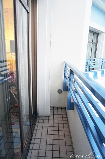 ミニーマウスルームを紹介。お部屋からの眺望と眺め。