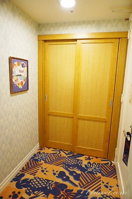 スティッチルームに宿泊!お部屋からの景色・ポーチ・内装も紹介。